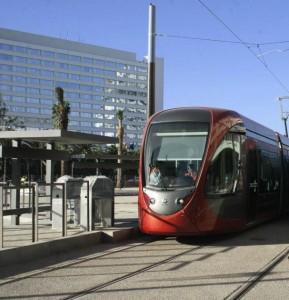 Citadis del tranvía de Casablanca en pruebas. Foto: Shiznuts.