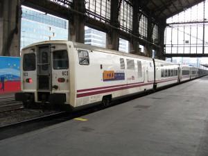 La imagen de un Talgo de Renfe en París-Austerlitz se ha hecho historia antes de lo previsto. Foto: Smiley.toerist.