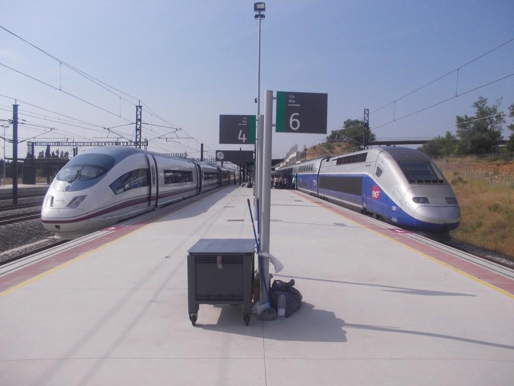 TAV Barcelona–París