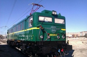 Locomotora histórica 289-015