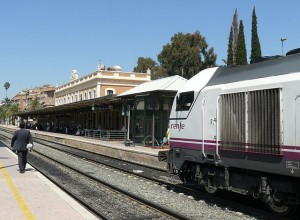 El AVE podría llegar soterrado a Murcia.