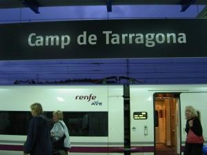 AVE Tarragona-Madrid