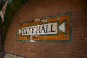 City Hall, estación fantasma