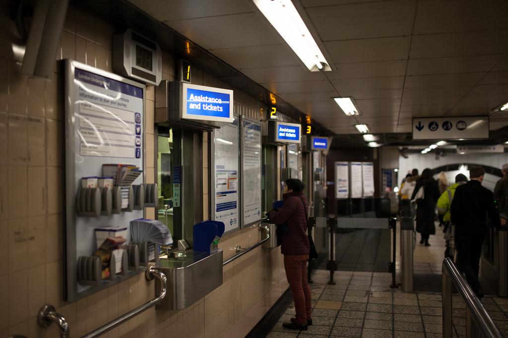 metro de Londres taquillas