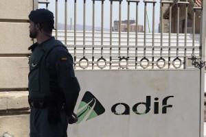 detenidos registros adif
