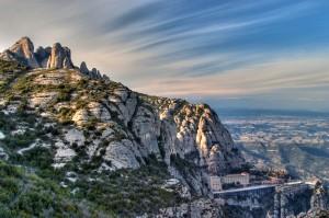 El Montserrat Exprés facilita la visita a este enclave turístico.