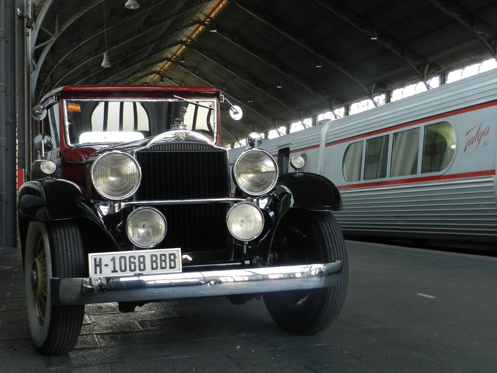 El Museo del Ferrocarril de Madrid acoge la primera edición de Exclusivo Retroclásica.