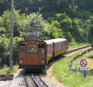 90º aniversario del tren cremallera de Larrún.