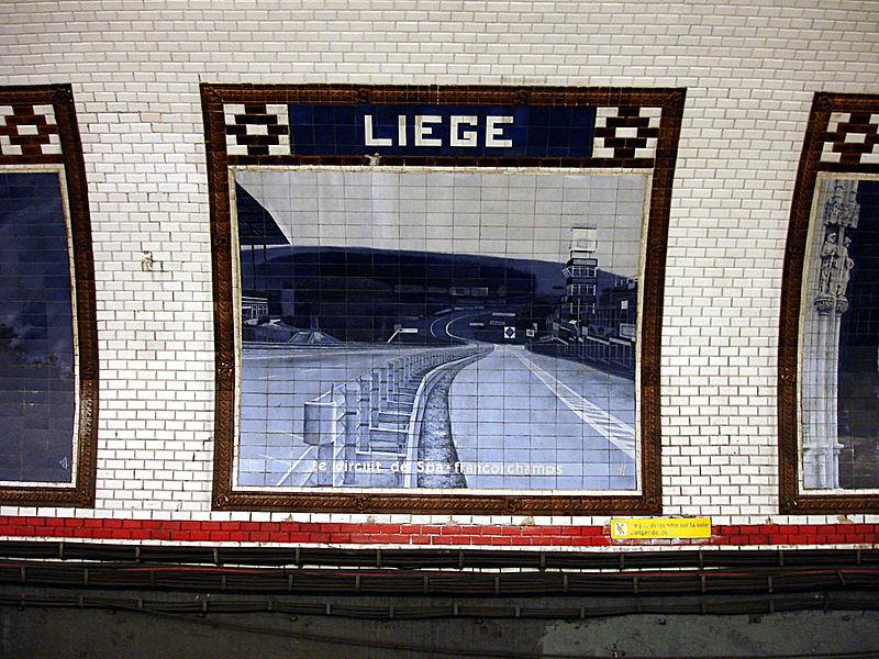 Otras estaciones, como la de Liege, reabrieron tras años fuera de servicio.