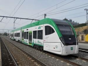 CAF se ha encargado de construir las unidades para el tren tranvía de la Bahía de Cádiz.
