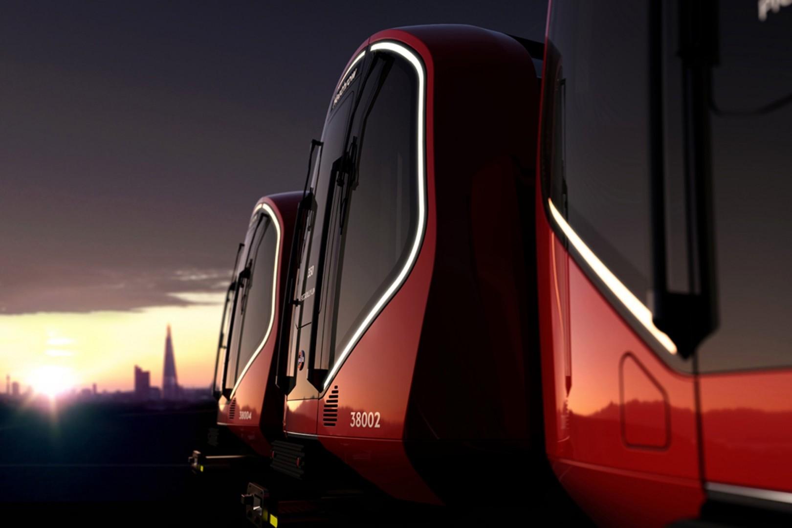 La propuesta de Priestman Good para la nueva flota del metro de Londres.