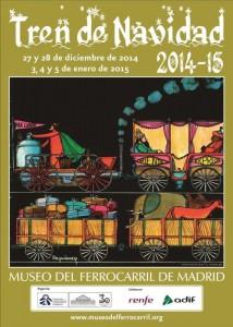 Cartel del Tren de la Navidad 2014