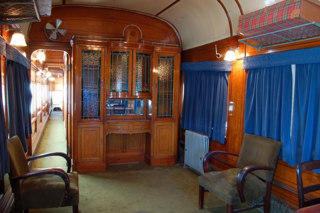 Interior del Coche Presidencial. Foto: Juan Pablo Ugalde.