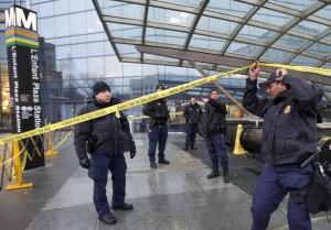 La estación de L'enfant Plaza del metro de Washington se precintó durante el incidente. Foto: © KRMG.com
