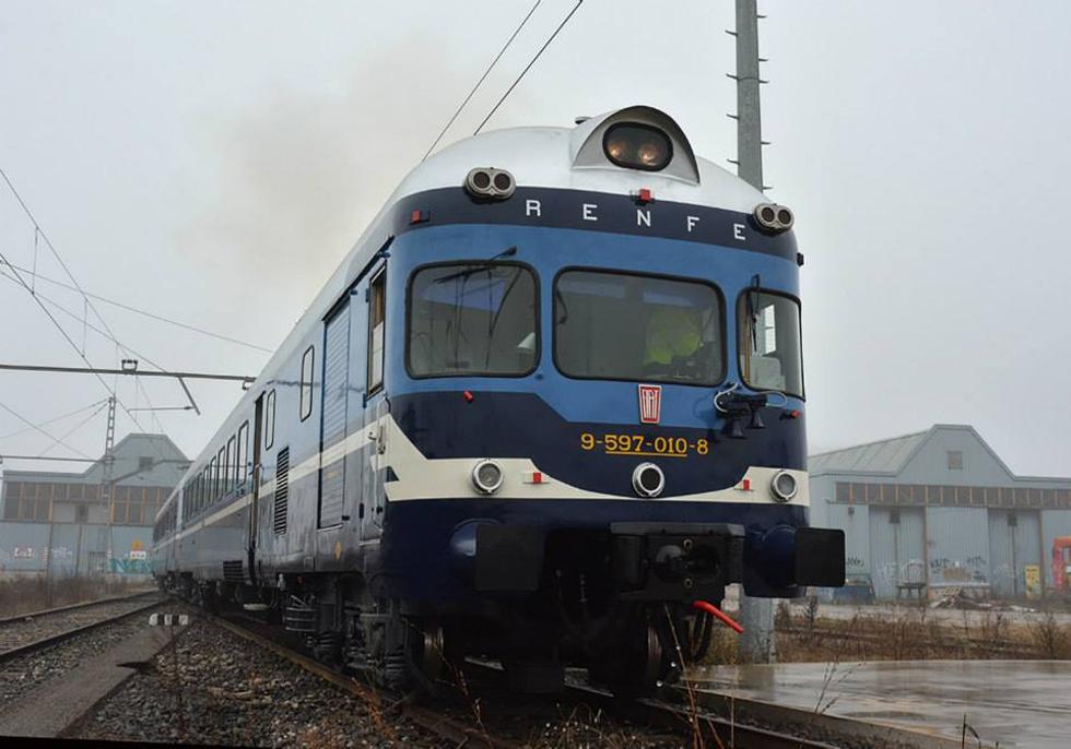 Con la suspensión de los trenes comerciales al norte de Soto del Real, el TER de Translozoya no podrá circular de manera oficial. Foto: © ARMF.