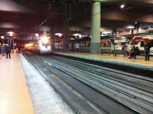 Al producirse la pequeña explosión en Atocha, el tráfico ferroviario pudo ser reordenado con rapidez. Foto: jrubios8.