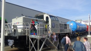 No es la primera vez que el Grupo Volkswagen pide a Alstom locomotoras híbridas H3. Foto: julienghien1.