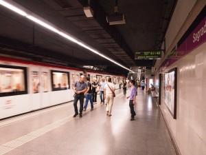 El análisis servirá para proponer medidas para obtener un aire más limpio en el metro de Barcelona. Foto: DDohler.