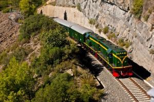 El Tren de los Lagos comenzará la nueva temporada con un coche más. Foto: Aleix Cortés.