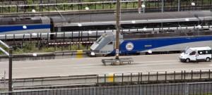En Eurotunnel se muestran satisfechos con los resultados de 2014 a pesar de la caída de los beneficios. Foto: Nigel Gibson.