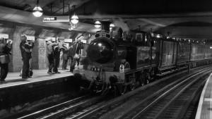 La locomotora Metropolitan 1, el mayor icono de los trenes históricos de metro. Foto: Ed Webster.