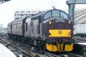 La franquicia West coast Railway se caracteriza por sus trenes charter. Foto: Steven Hughes.