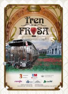 Cartel del Tren de la Fresa 2015