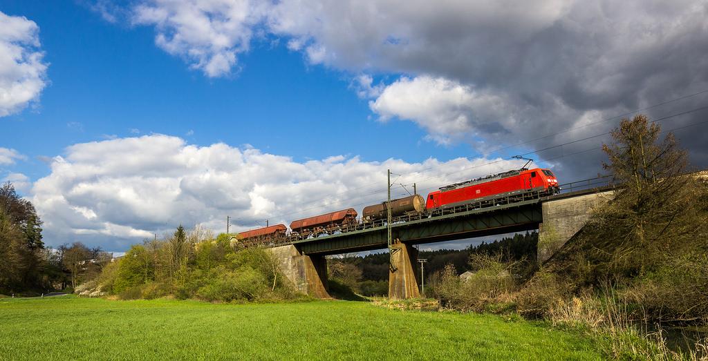 El transporte de mercancías por ferrocarril en Alemania podría aumentar considerablemente su coste. Foto: TrainPhotography.de