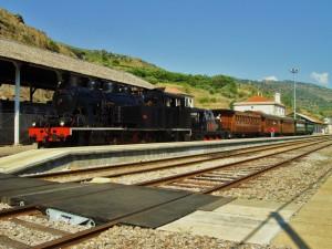 Un año más, el tren histórico del Duero se prepara para comenzar su temporada. Foto: André Marques.