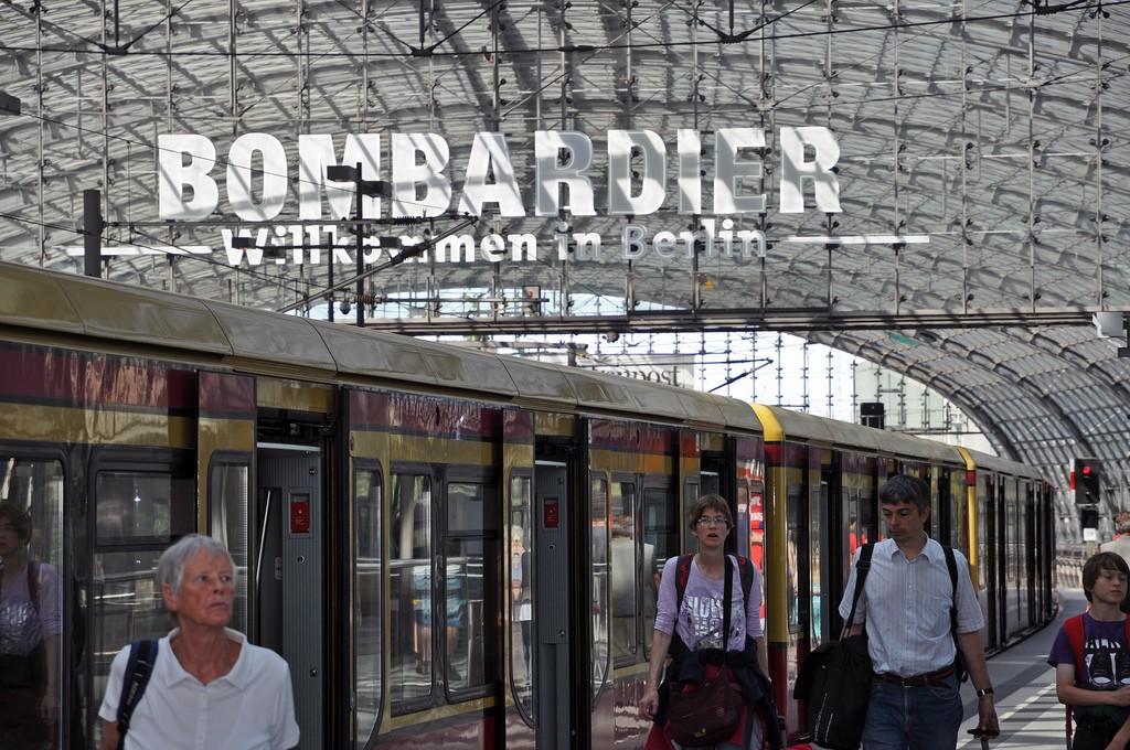 Bombardier Transportation tiene previsto salir a bolsa en el último trimestre de 2015. Foto: Doug.
