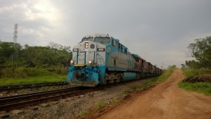 El ferrocarril, factor clave en la inversión de Brasil en infraestructuras. Foto: Amauri Aparecido Zardeto.