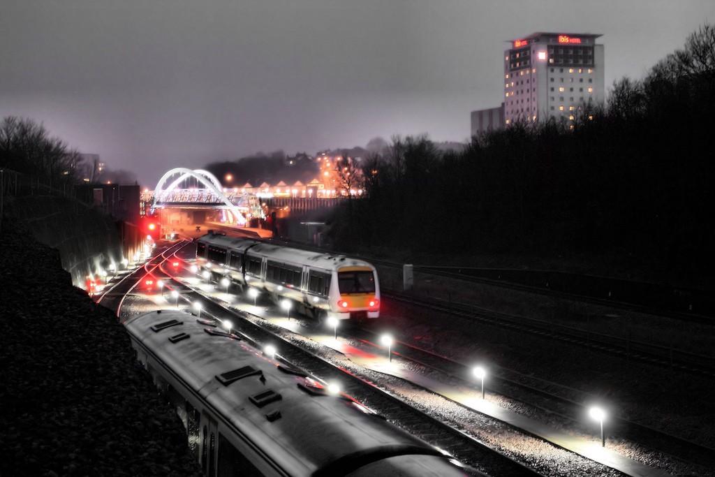 El ferrocarril británico vive años de crecimiento en cuanto a transporte de viajeros. Foto: (Mick Baker)rooster.