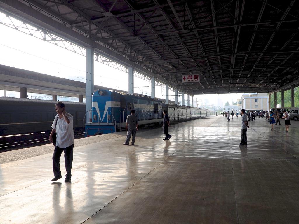 El nuevo tren turístico de Corea del Norte tendrá a Pyongyang como punto de salida y retorno. Foto: Clay Gilliland.