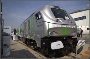 La locomotora Eurolight, diseñada y producida por Vossloh España, ha resultado ser un producto estrella. Foto: Tegeler.