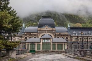 Mañana, la estación de Canfranc revivirá el día de su inauguración. Foto: Juanedc.