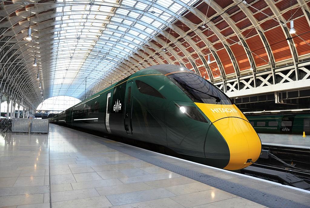 Diseño de los nuevos trenes para First Great Western. Foto: My new desk.