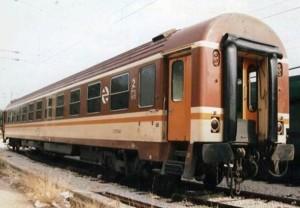 Un BBL 9600 como el que pasará a formar parte del tren histórico de la AAFM, en estado original. Foto: Xavier Maraña.