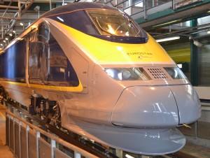Esta es la nueva imagen de los trenes de Eurostar clase 373 (ahora e300) que se ha sometido al cambio. Foto: Railway Gazette.