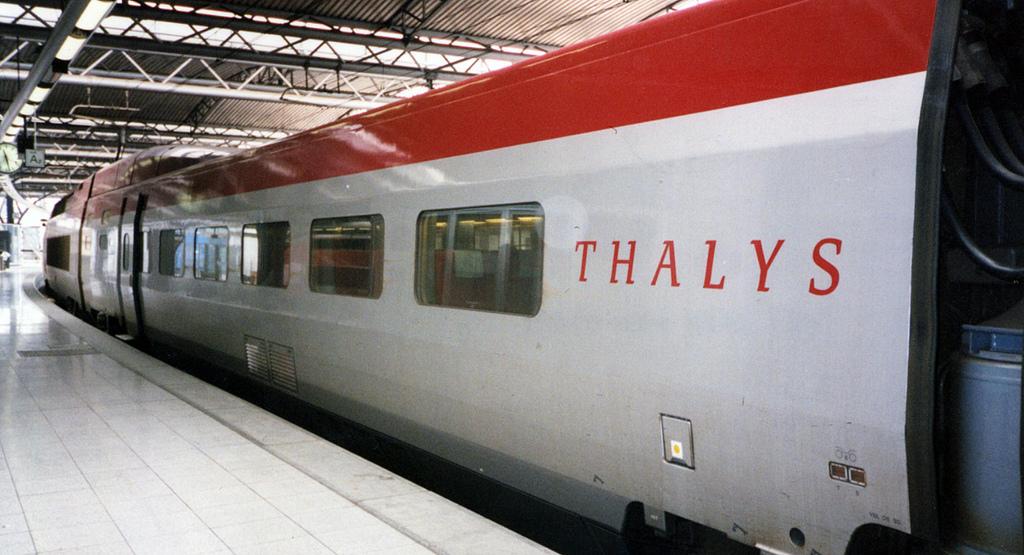 El Thalys pbjeto del intento de atentado, no contaba con grandes medidas de seguridad. Foto: InSapphoWeTrust.
