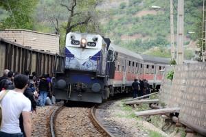 Irán invertirá en el ferrocarril para convertirlo en uno de los motores de su crecimiento. Foto: Arash Kamali.