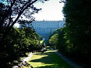 El apeadero secreto del Palacio Real se encontraría en los Jardines del Campo del Moro. Foto: Madrid Emergency Vehicles.