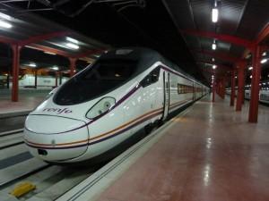 Avant 114 en la estación de Chamartín