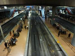 Estaciones como la de Madrid Atocha Cercanías podrían verse sin trenes durante la huelga de Renfe del 18 de septiembre.