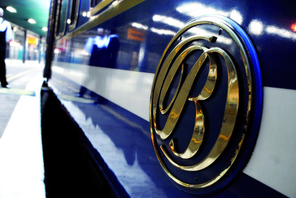 El Tren Azul es uno de los trenes turísticos más lujosos del planeta. Foto: AQ.