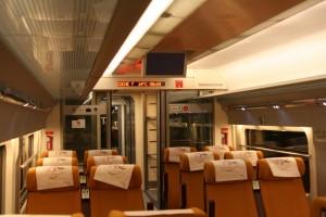 El WiFi se instalará en todos los trenes AVE de manera paulatina. Foto: Jesús Pérez Pacheco.