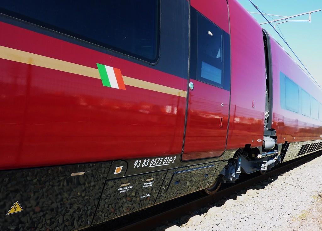 NTV usará los Pendolinos de Alstom para reforzar y aumentar los servicios Italo. Foto: Thierry Llasandes.