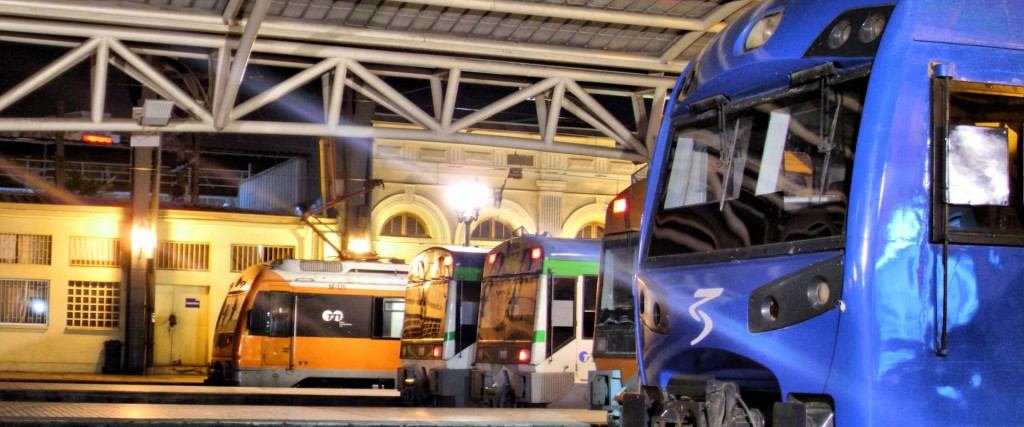 Alameda, Chillán e intermedios se quedarán sin trenes durante dos meses a causa del Rancagua Xpress. Foto: Ignacio Olmedo Godoy.