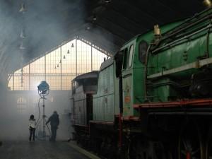 La estación de Delicias mantiene una estrecha relación con el mundo del cine. Foto: Museo del Ferocarril de Madrid.