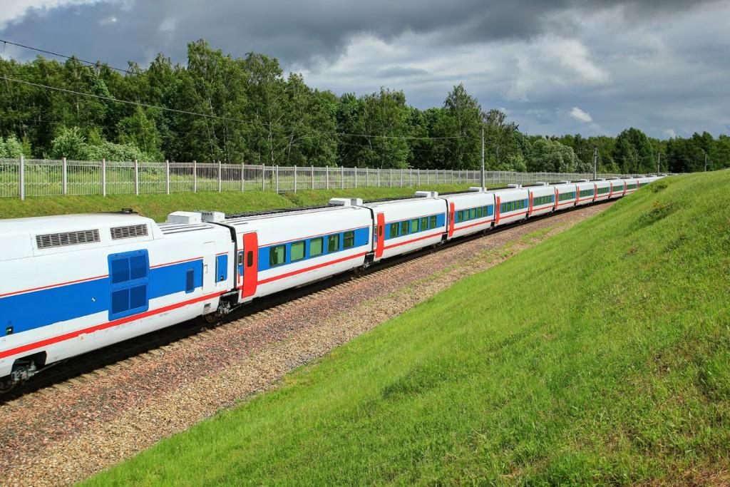 Tres de los Talgo de RZD serán los encargados de operar la ruta Berlín - Moscú. Foto: Поезд Стриж.