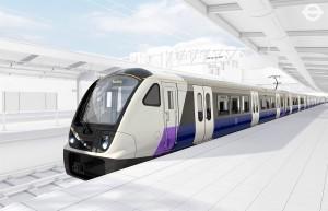 Diseño exterior de los trenes Bombardier para el Crossrail londinense. Foto: Railway Technology Magazine.